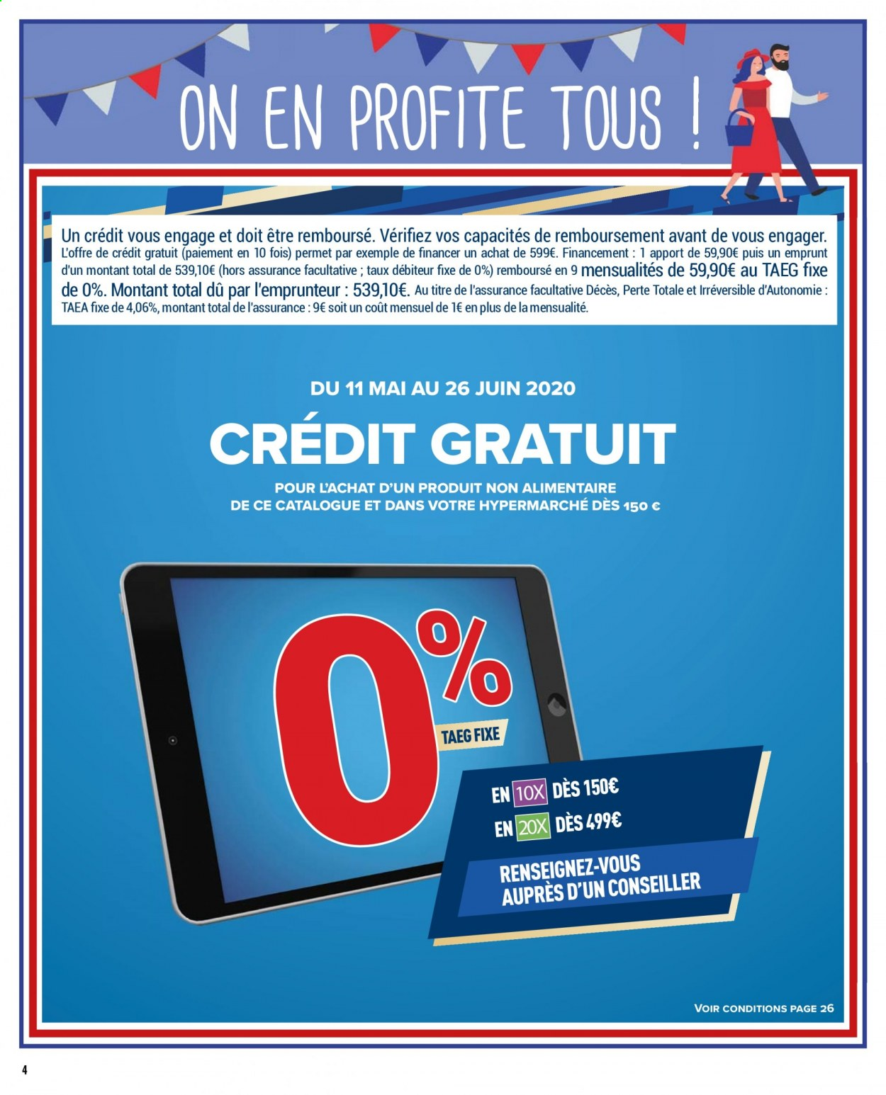 Catalogue Carrefour - 25.05.2020 - 08.06.2020. Page 4.