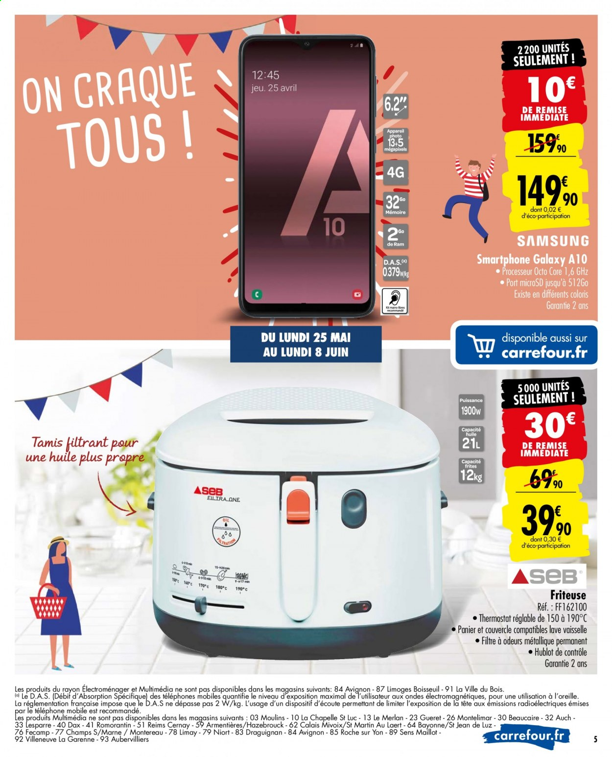 Catalogue Carrefour - 25.05.2020 - 08.06.2020. Page 5.