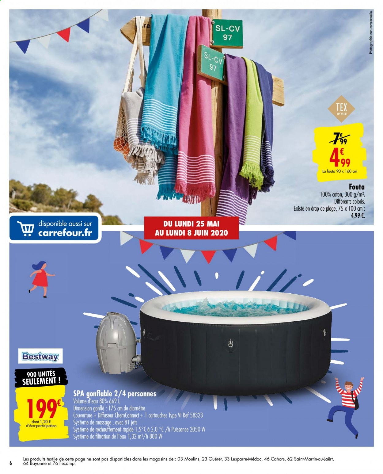 Catalogue Carrefour - 25.05.2020 - 08.06.2020. Page 6.
