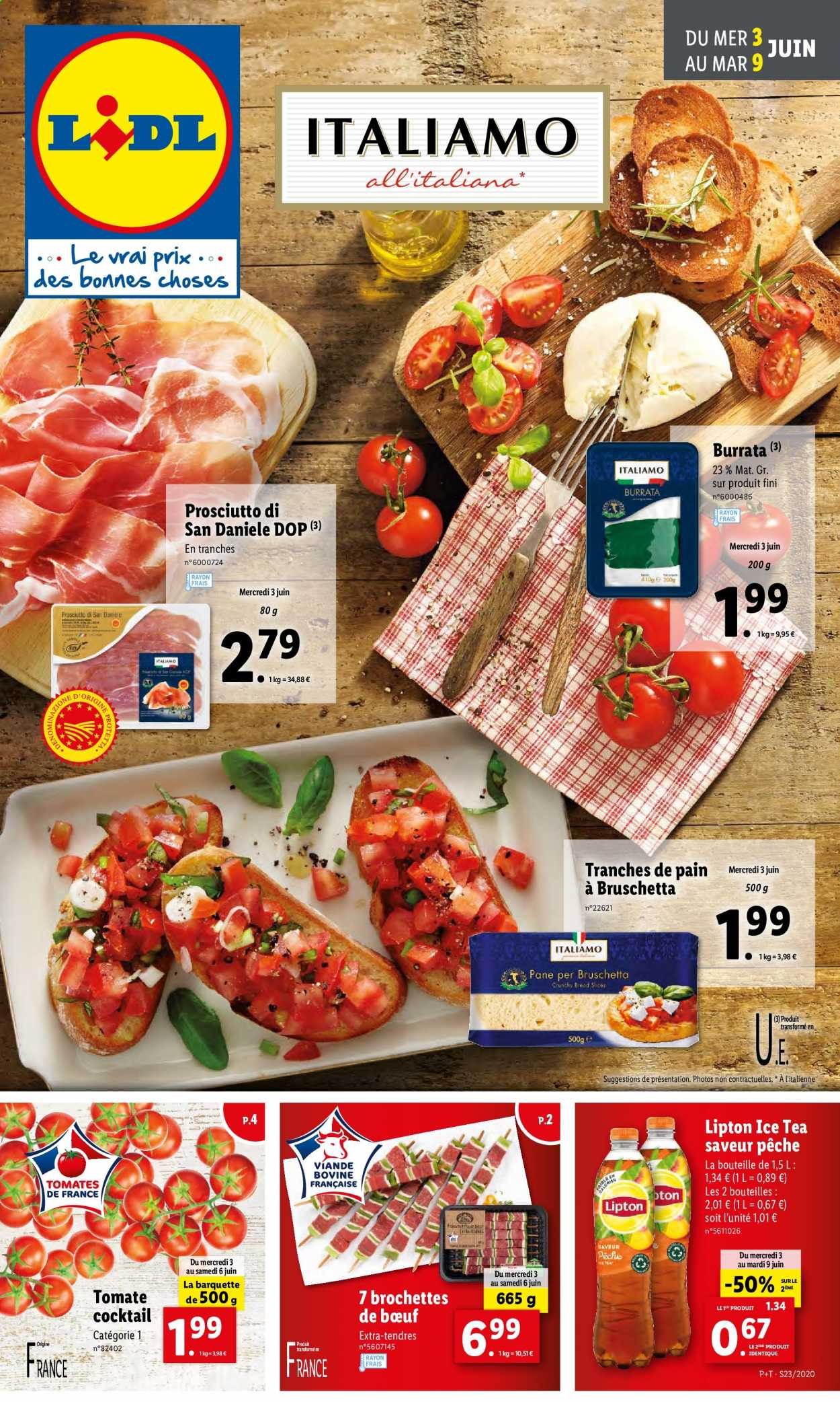 Catalogue Lidl - 03.06.2020 - 09.06.2020. Page 1.