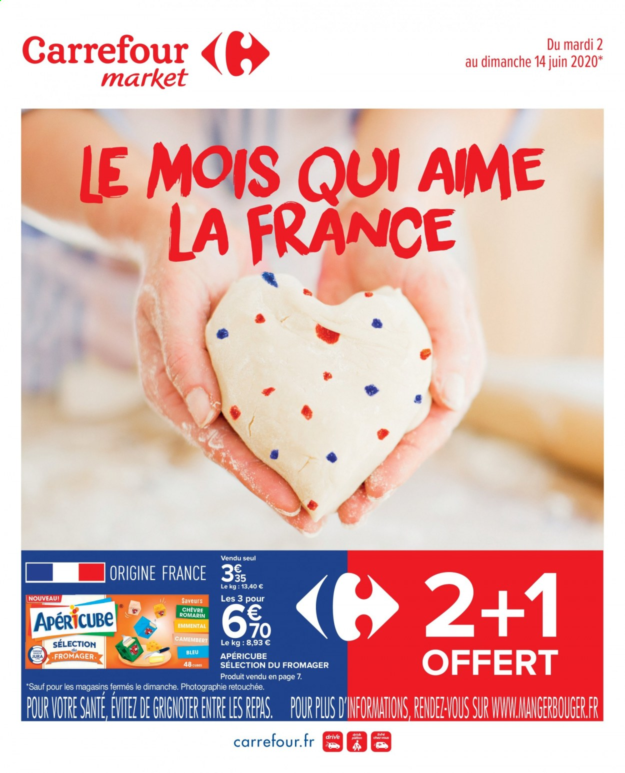 Catalogue Carrefour - 02.06.2020 - 14.06.2020. Page 1.