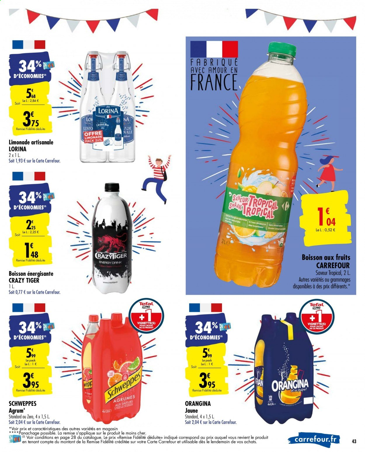 Catalogue Carrefour - 02.06.2020 - 15.06.2020. Page 43.