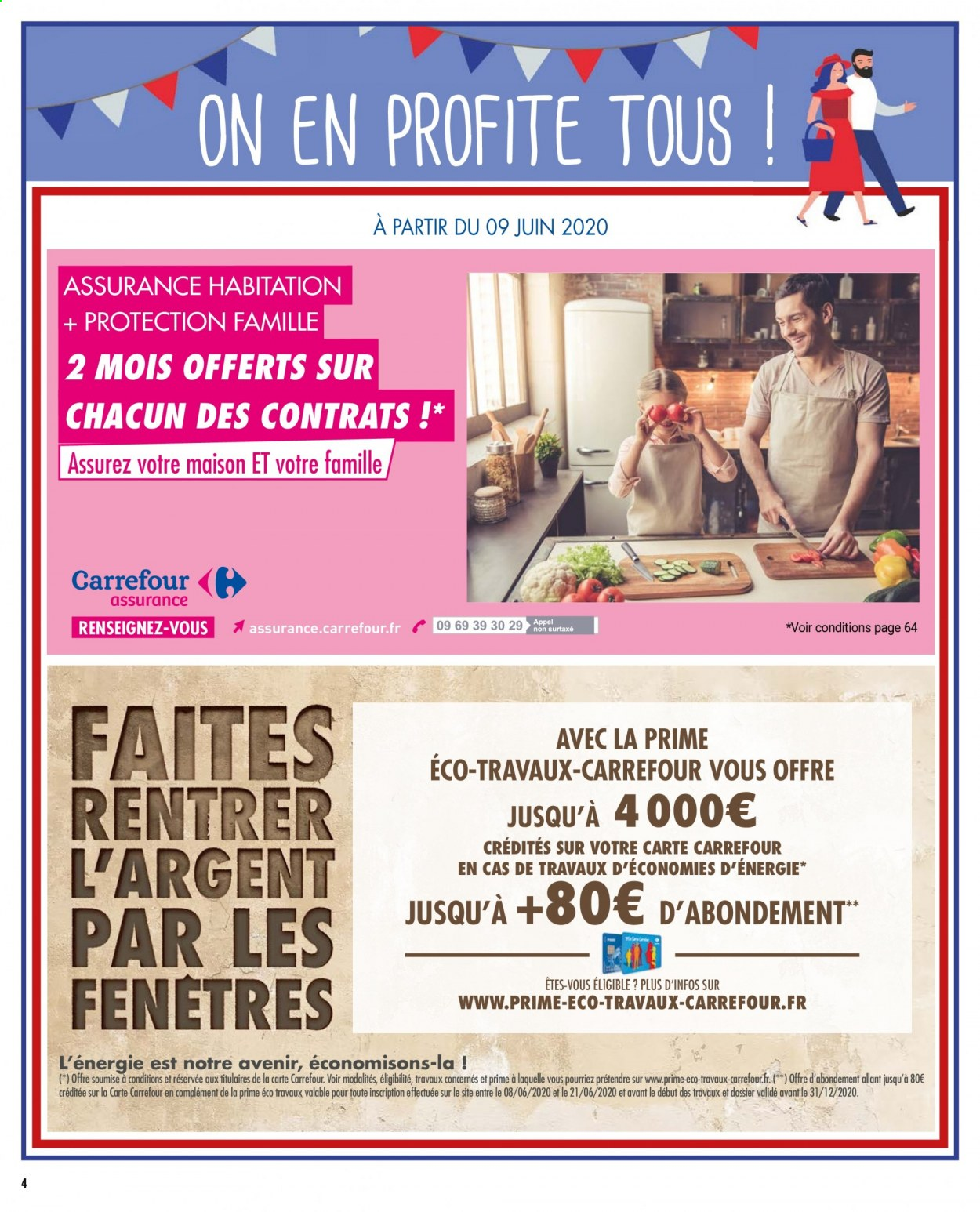 Catalogue Carrefour - 09.06.2020 - 22.06.2020. Page 4.