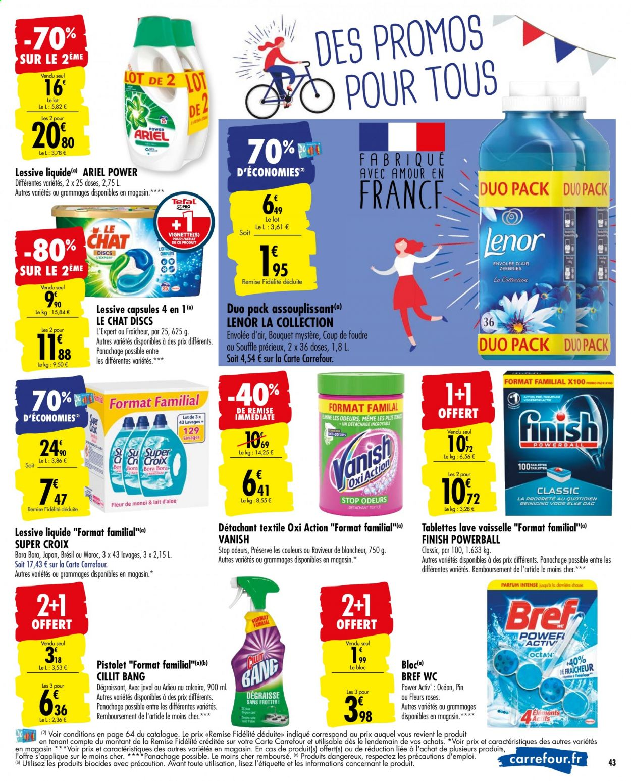 Catalogue Carrefour - 09.06.2020 - 22.06.2020. Page 43.