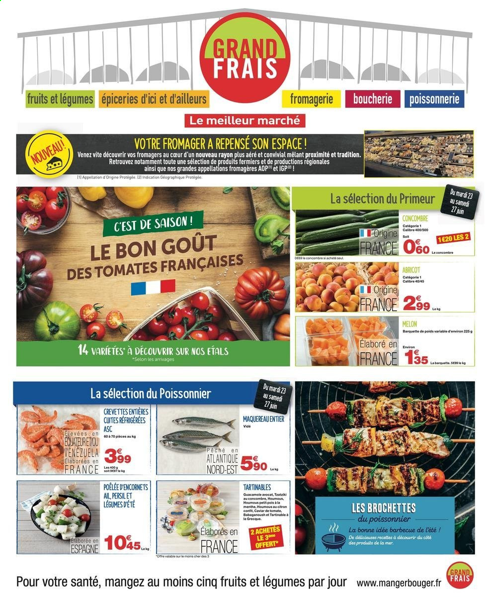 Catalogue Grand Frais - 23.06.2020 - 05.07.2020. Page 1.