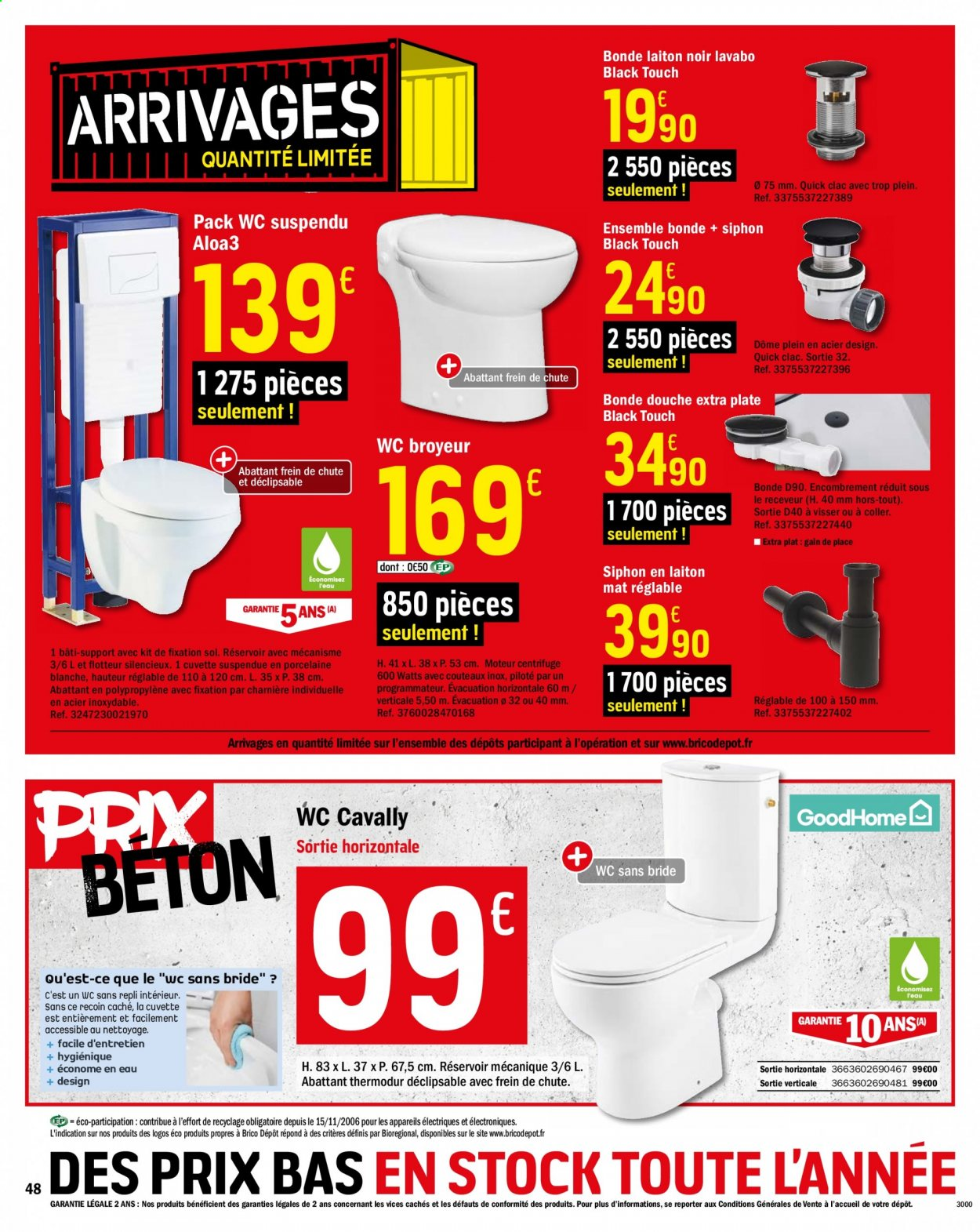 Catalogue Brico Depot 03 07 2020 23 07 2020 Page 48 Vos Promos