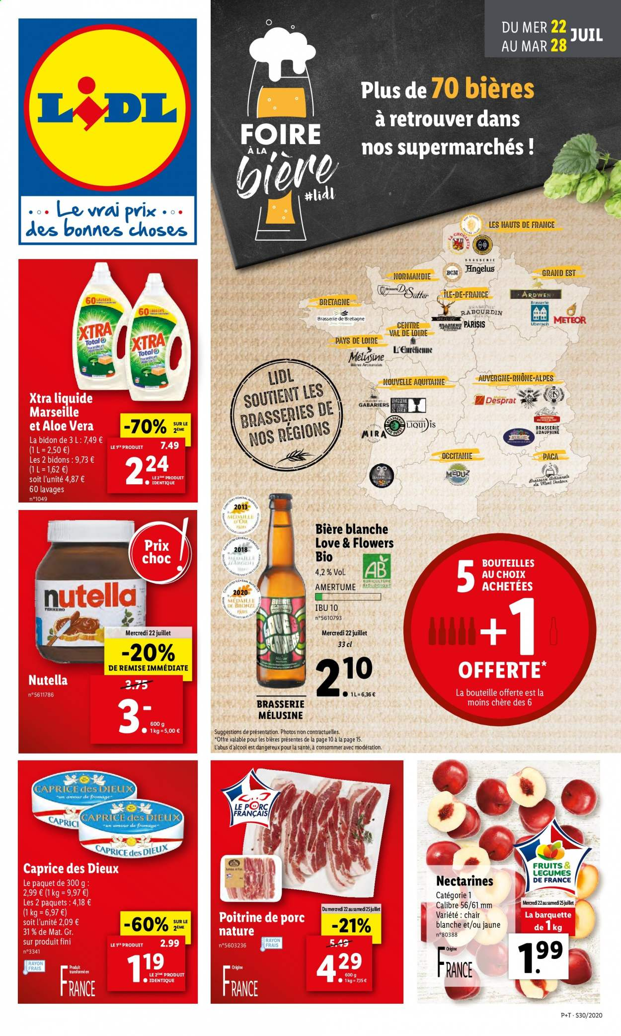 Catalogue Lidl - 22.07.2020 - 28.07.2020. Page 1.