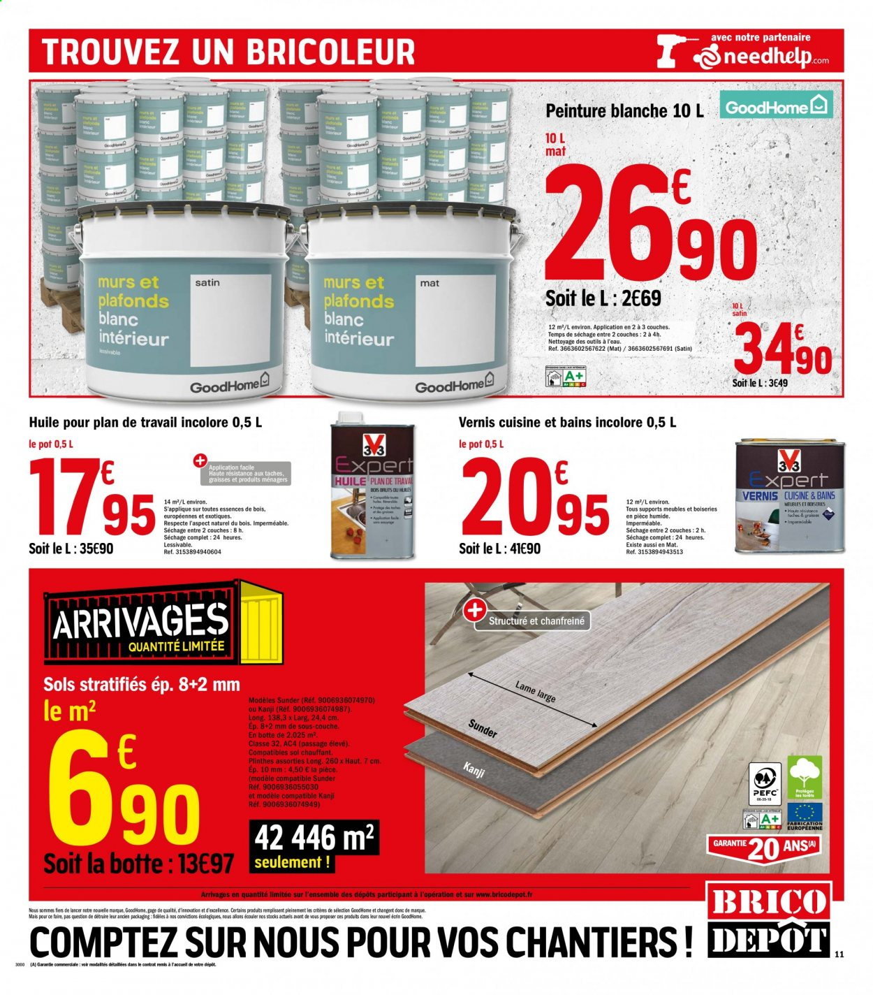 Catalogue Brico Depot 31 07 2020 20 08 2020 Page 11 Vos Promos