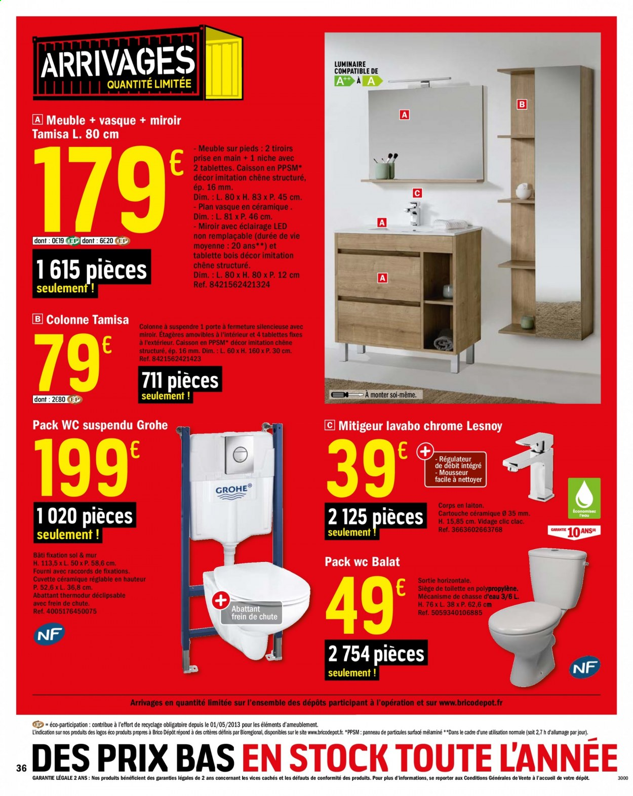 Catalogue Brico Depot 18 09 2020 08 10 2020 Page 36 Vos Promos