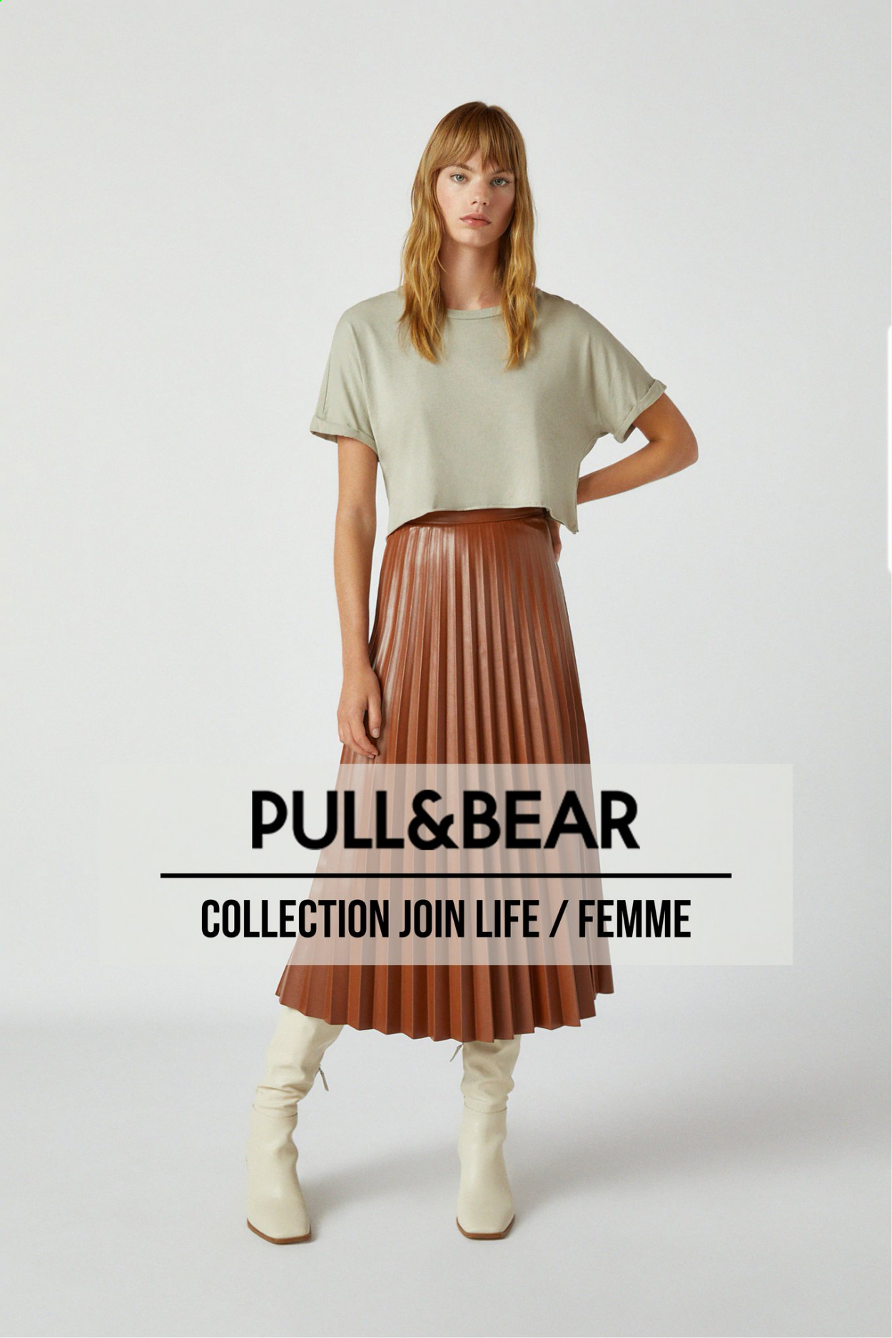 Catalogue PULL&BEAR - Produits soldés - pull. Page 1.