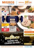 Catalogue Migros France - 22.12.2020 - 27.12.2020.