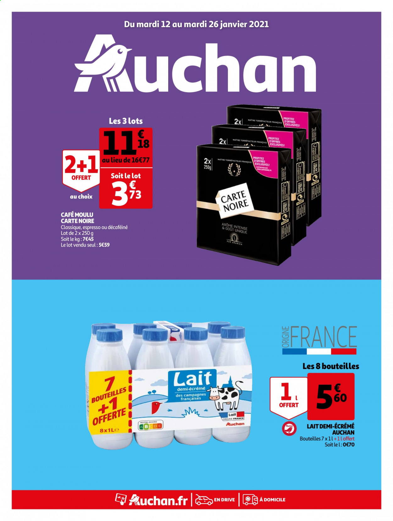 Catalogue Auchan - 12.01.2021 - 26.01.2021. Page 1.