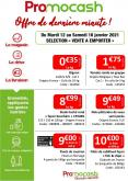 Catalogue Promocash - 12.01.2021 - 16.01.2021.