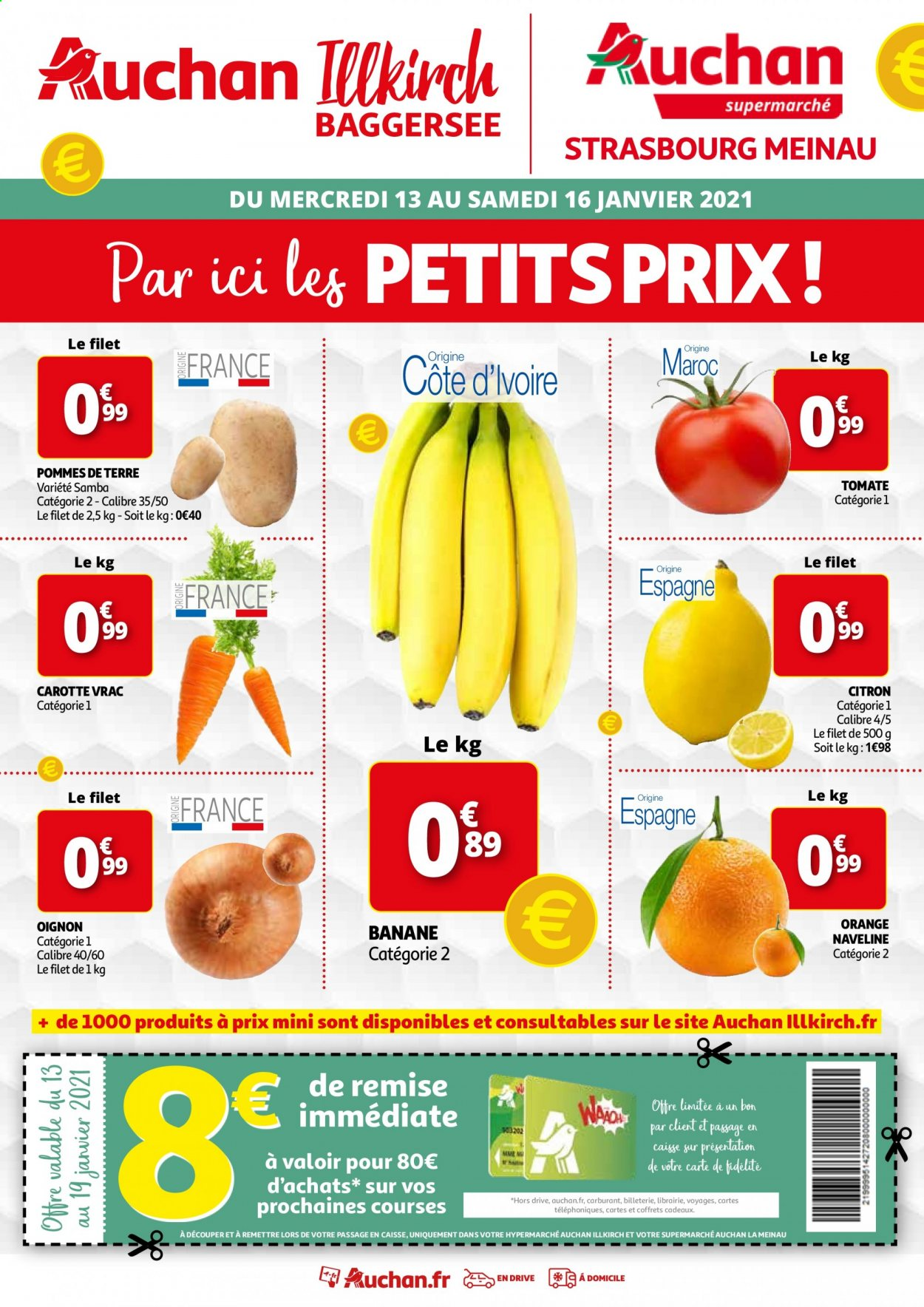 Catalogue Auchan - 13.01.2021 - 16.01.2021. Page 1.