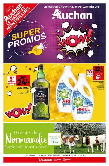 Catalogue Auchan - 27.01.2021 - 02.02.2021.