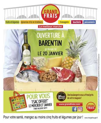 Catalogue Grand Frais - 20.01.2021 - 31.01.2021.