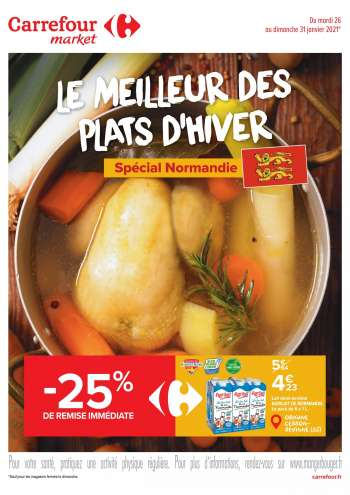 Catalogue Carrefour Market - 26.01.2021 - 31.01.2021.