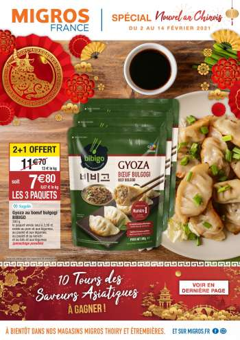 Catalogue Migros France - 02.02.2021 - 14.02.2021.
