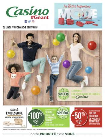 Catalogue Géant Casino - 01.02.2021 - 28.02.2021.