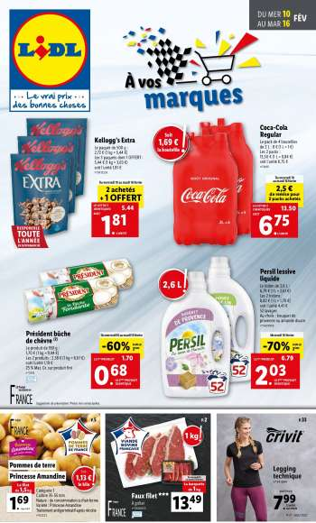 Catalogue Lidl - 10.02.2021 - 16.02.2021.