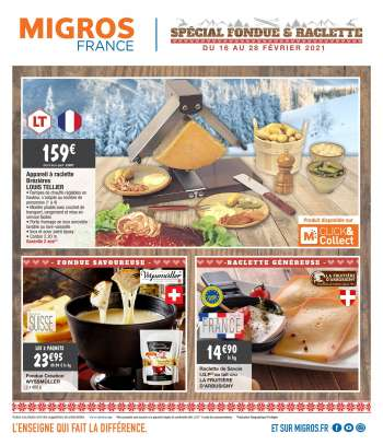 Catalogue Migros France - 16.02.2021 - 28.02.2021.