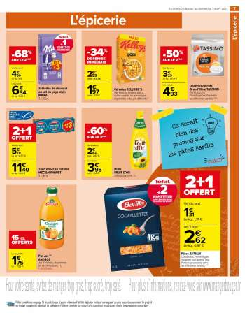 Catalogue Carrefour Market - 23.02.2021 - 07.03.2021.