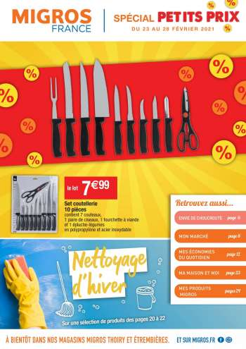 Catalogue Migros France - 23.02.2021 - 28.02.2021.