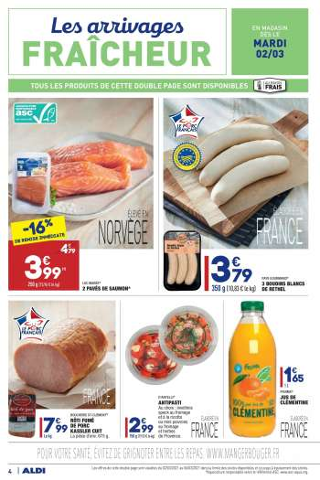 Catalogue ALDI - 02.03.2021 - 08.03.2021.