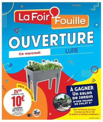 Catalogue La Foir'Fouille - 17.02.2021 - 09.03.2021.