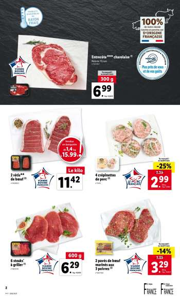 Catalogue Lidl - 03.03.2021 - 09.03.2021.