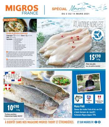 Catalogue Migros France - 02.03.2021 - 14.03.2021.