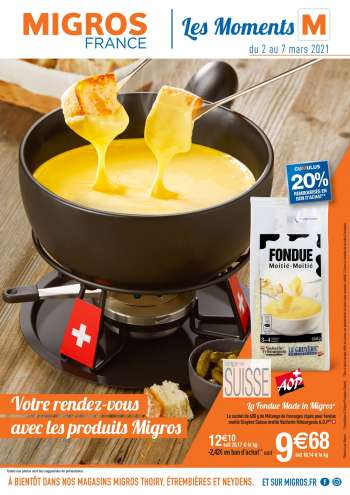 Catalogue Migros France - 02.03.2021 - 07.03.2021.