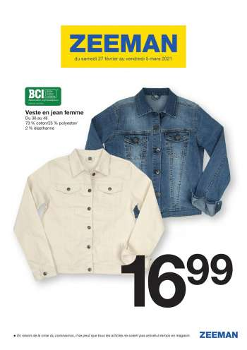 Catalogue Zeeman - 27.02.2021 - 05.03.2021.
