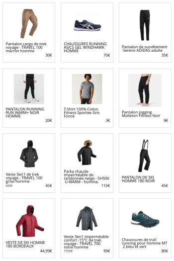 Catalogue Decathlon