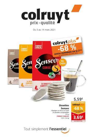 Catalogue Colruyt - 03.03.2021 - 14.03.2021.