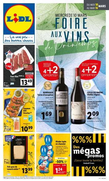 Catalogue Lidl - 10.03.2021 - 16.03.2021.