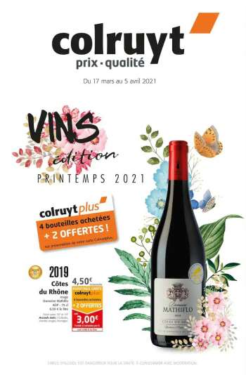 Catalogue Colruyt - 17.03.2021 - 05.04.2021.