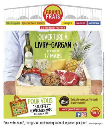 Catalogue Grand Frais - 17.03.2021 - 28.03.2021.