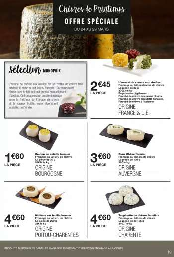 Catalogue Monoprix - 24.03.2021 - 05.04.2021.