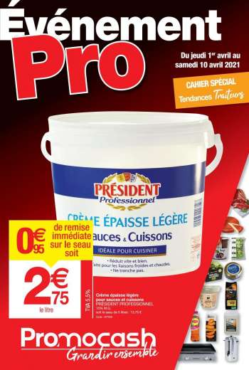 Catalogue Promocash - 01.04.2021 - 10.04.2021.