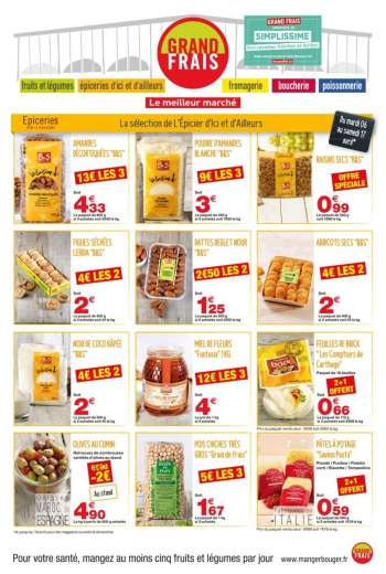 Catalogue Grand Frais - 06.04.2021 - 18.04.2021.
