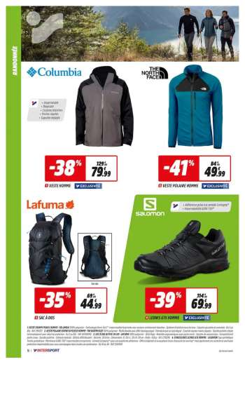 Catalogue INTERSPORT - 06.04.2021 - 18.04.2021.