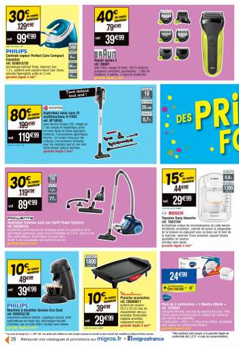 Catalogue Migros France - 13.04.2021 - 18.04.2021.
