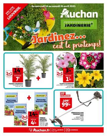 Catalogue Auchan - 14.04.2021 - 24.04.2021.