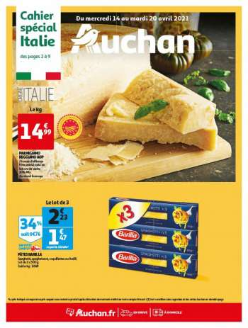 Catalogue Auchan - 14.04.2021 - 20.04.2021.