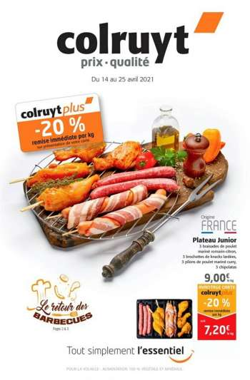 Catalogue Colruyt - 14.04.2021 - 25.04.2021.
