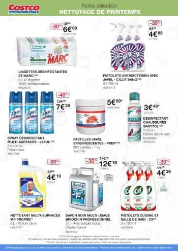 Catalogue Costco