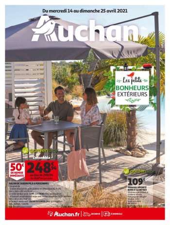 Catalogue Auchan - 14.04.2021 - 25.04.2021.