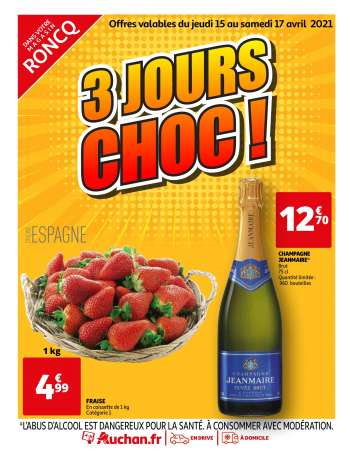 Catalogue Auchan - 15.04.2021 - 17.04.2021.