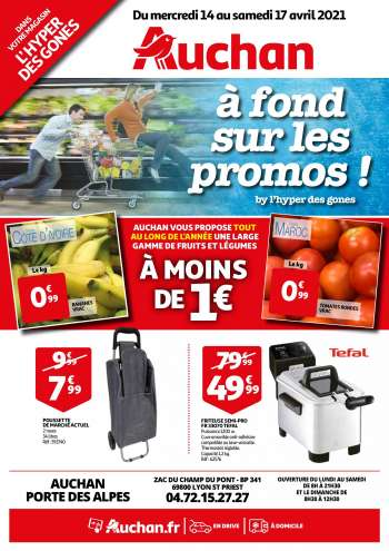 Catalogue Auchan - 14.04.2021 - 17.04.2021.